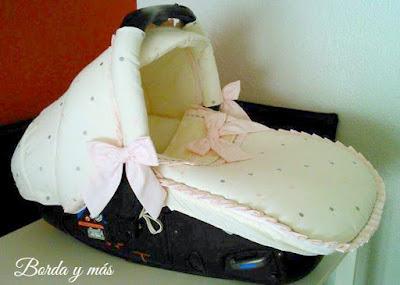 capota matrix beige rosa gris
