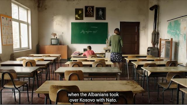 anak kosovo sekolah serbia
