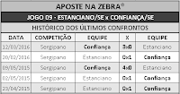 LOTECA 699 - HISTÓRICO JOGO 09