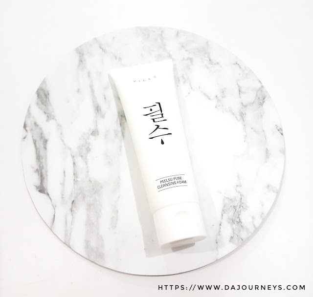 Review Peelsu Pure Cleansing Foam by Vicle