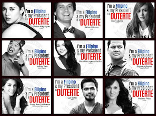 Celebrity Loyalists Endorsed Mayor #DU30 for Free