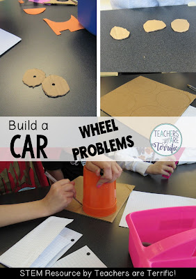 STEM Challenge: Build a car using basic materials and a little bit of junk.