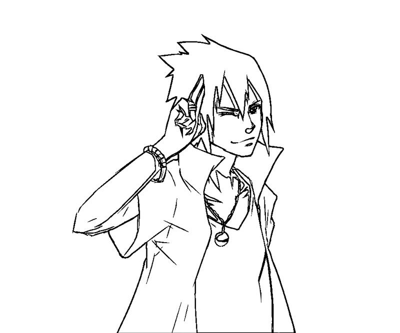 sasuke uchiha coloring pages - photo#8