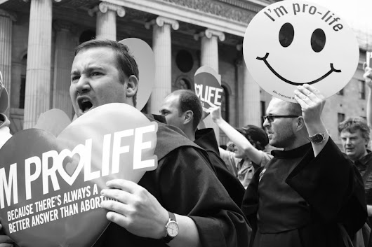 Pro-life Protest against the Introduction of Abortion