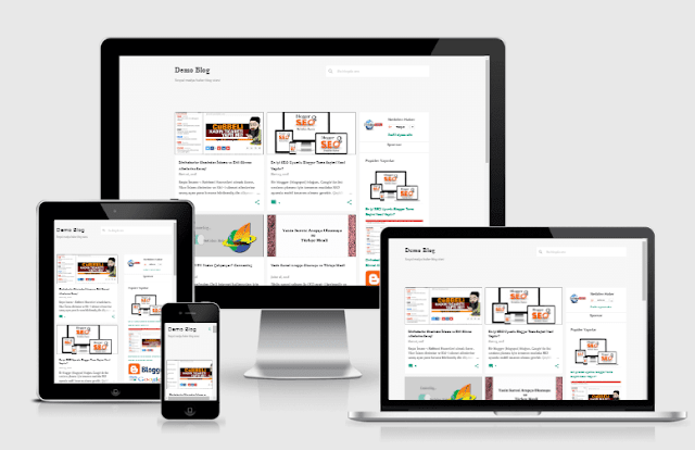 fast loading SEO Optimized Emporio V3 Blogger Templates