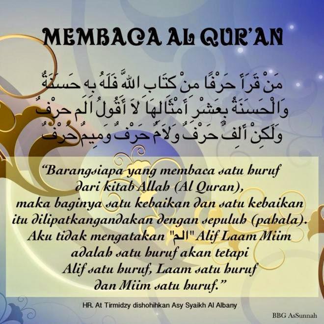Citaten Quran Hadits : Dalil al qur an hadits tentang keutamaan menghafal