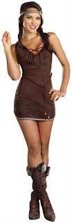 Women's Native Beauty Adult Costume for Thanksgiving Day