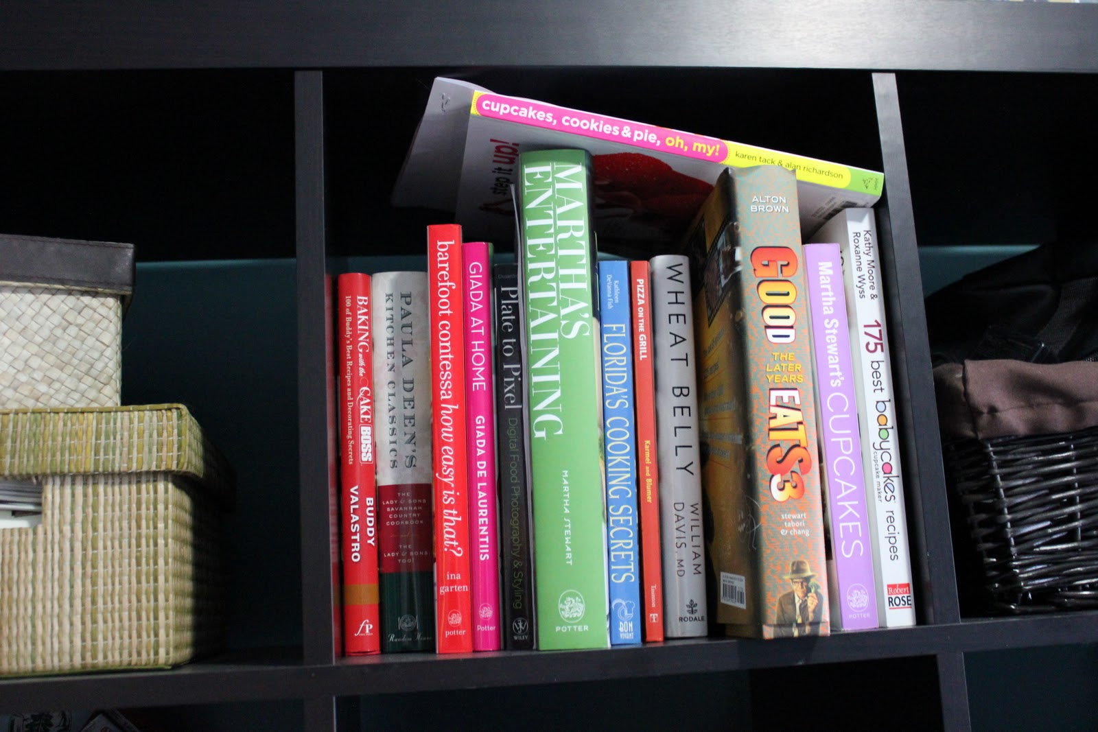 And There Is Always A Stack Of Cookbooks On The Kitchen Table Or Counter Gleaned From Their Proper Storage Spot