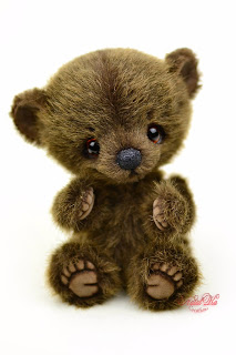 Artist teddy bear, handmade bear, ooak bear, Natalie Lachnitt, Clemens Spieltiere, NatalKa Creations, teddies with charm, teddy bears, Künstlerteddy, Künstlerbär, Teddybär, Unikat, artist teddy bear buy, Teddybär kaufen, медвежонок тедди мишка