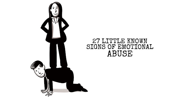 27 Little Known Signs of Emotional Abuse