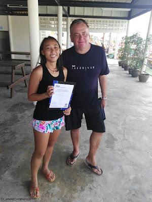 Testimonial by Loretta Sze of the February 2018 PADI IDC in Khao Lak, Thailand