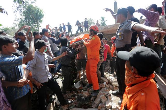 Terindentifikasi Sekitar 95 Korban Gempa di Aceh Ditemukan