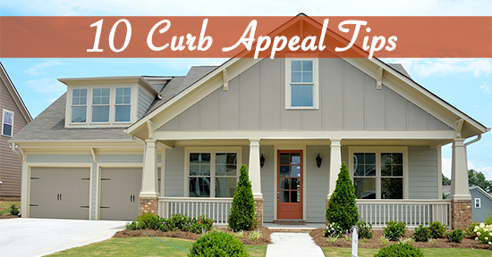 10 Curb Appeal Tips
