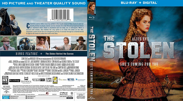Stolen Bluray Cover
