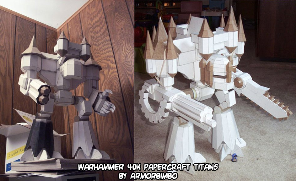 Ninjatoes Papercraft Weblog Papercraft Warhammer 40k