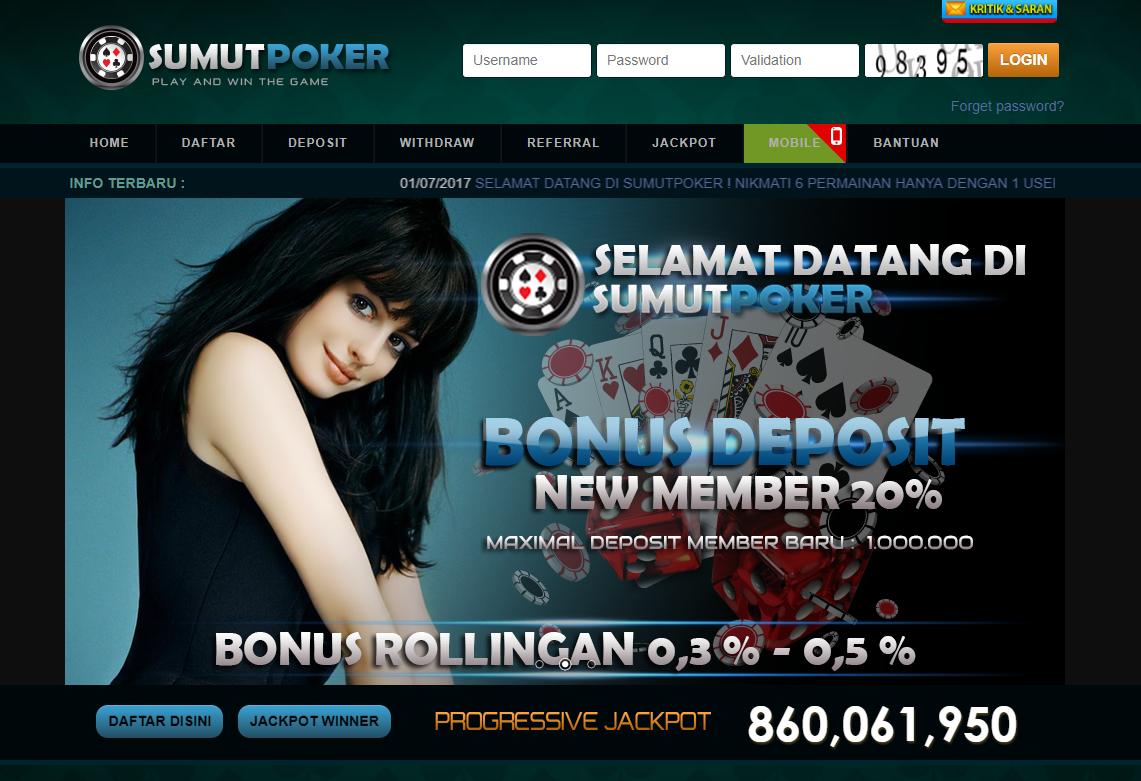 SUMUTPOKER : Situs Judi Poker Online Terbaik & terpercaya ...