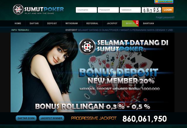 SumutPoker adalah situs judi Poker Online terbaik & terpercaya di Indonesia