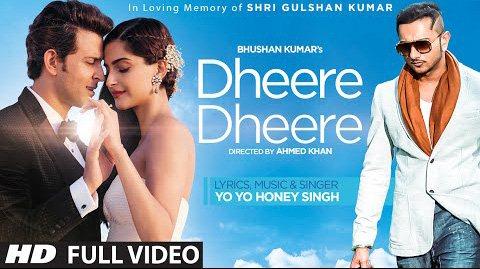 Dheere Dheere Se Meri Zindagi Full Video Song-Hrithik Roshan-Sonam Kapoor-Yo Yo Honey Singh HD Image