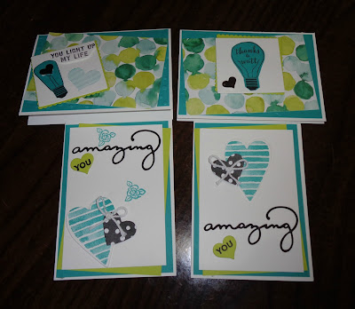 Stampin' Up! UK Independent  Demonstrator Susan Simpson, Craftyduckydoodah!, Heart Happiness, January 2018 Coffee & Cards project, Supplies available 24/7 from my online store,