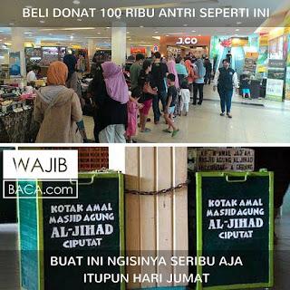 9 Meme Sindiran Ini Sentil Para Pemburu Promo Diskon Donat JCo yang Rela Antre Berjam-jam