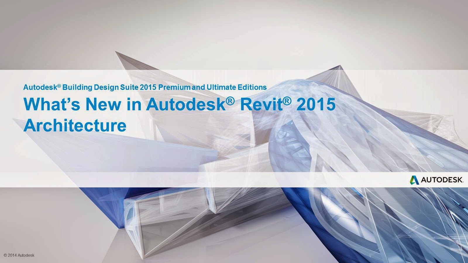 New features in the Autodesk Revit 2015