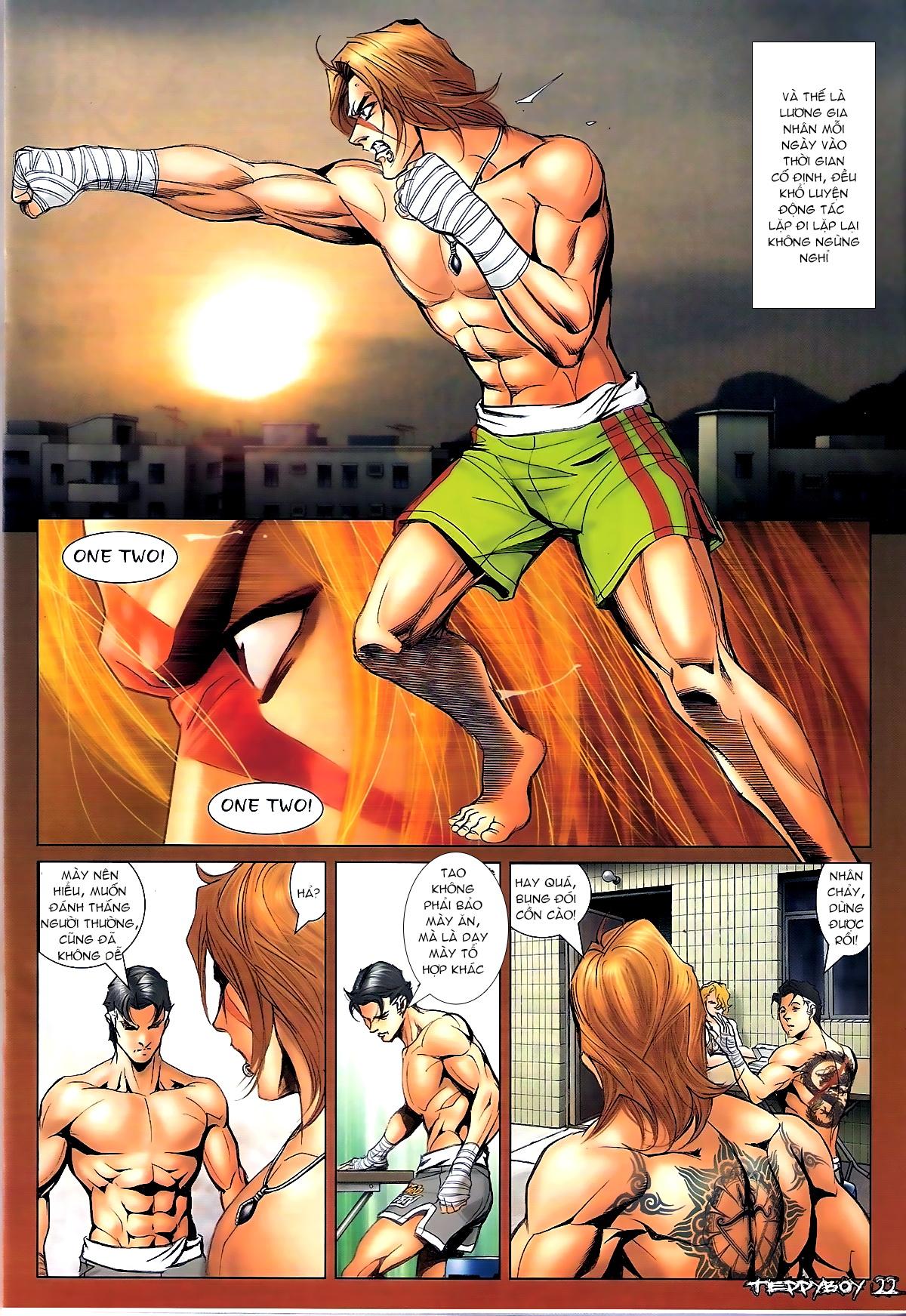 Người Trong Giang Hồ - Chapter 1342: Muay Lào - Pic 16