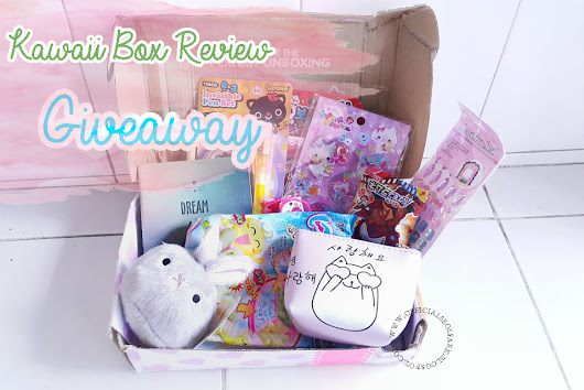 Official Seol: Review + Giveaway ft Kawaii Box Unboxing