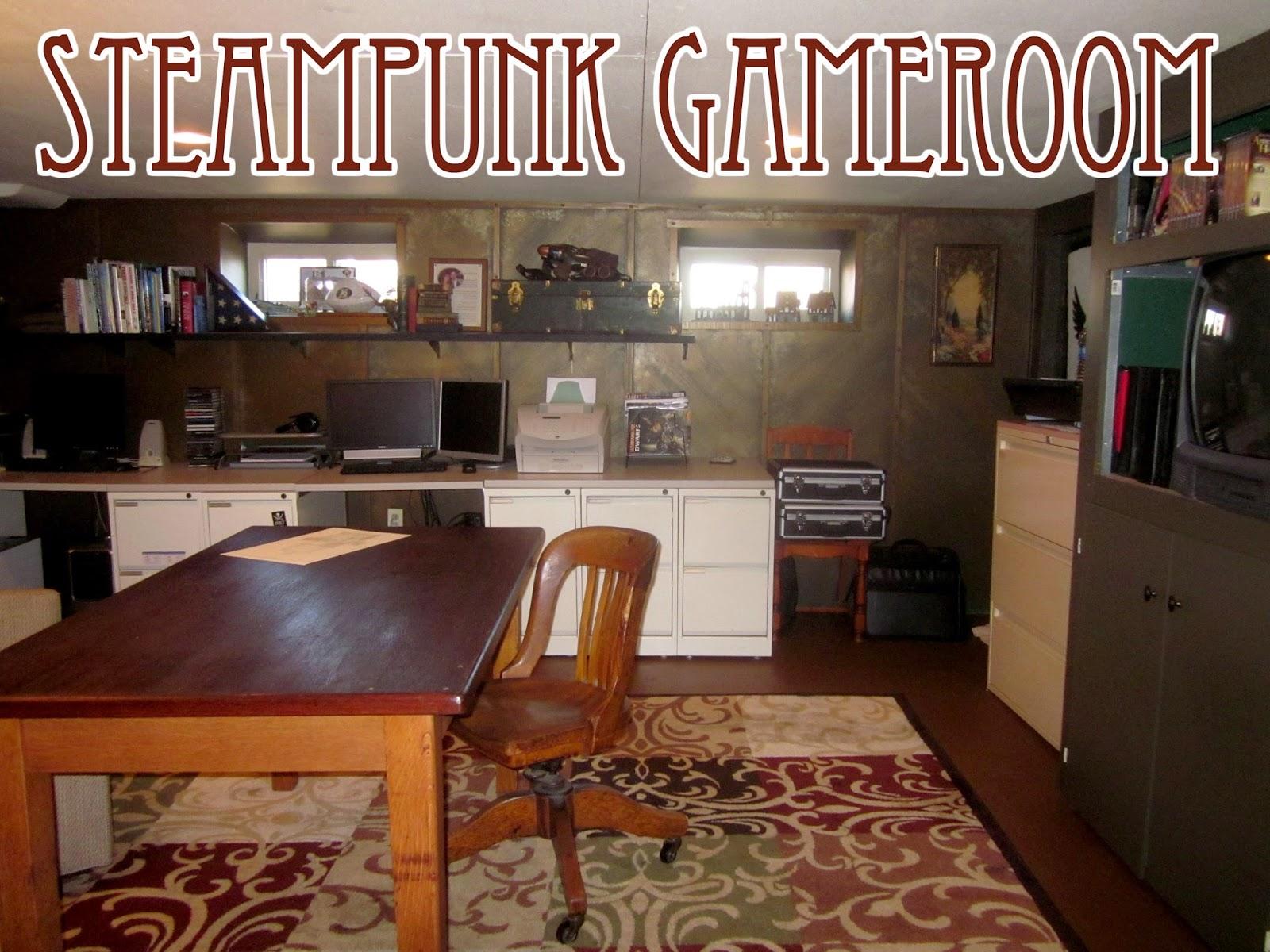 Steampunk Gameroom