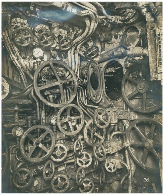 Всередині німецького підводного човна, 1918 р.