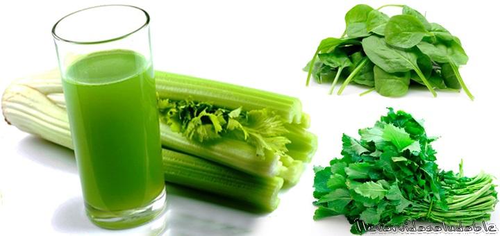 9 Alimentos verdes buena salud