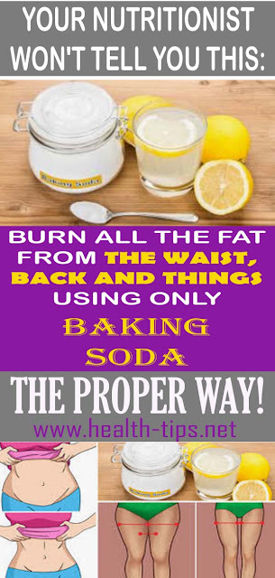 Use Baking Soda To Speed-up The Weight Loss Process#NATURALREMEDIES