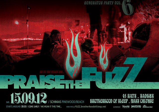 Praise The Fuzz Is Postponed