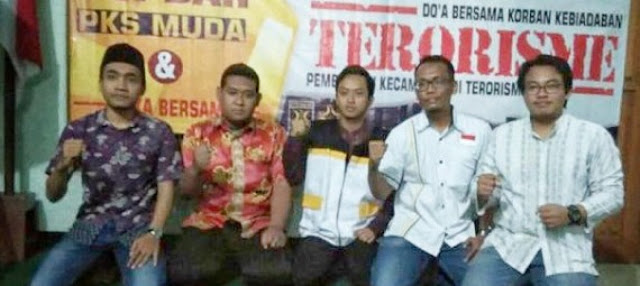 PKS Muda Bojonegoro Gelar Doa Bersama Untuk Korban Bom Teroris