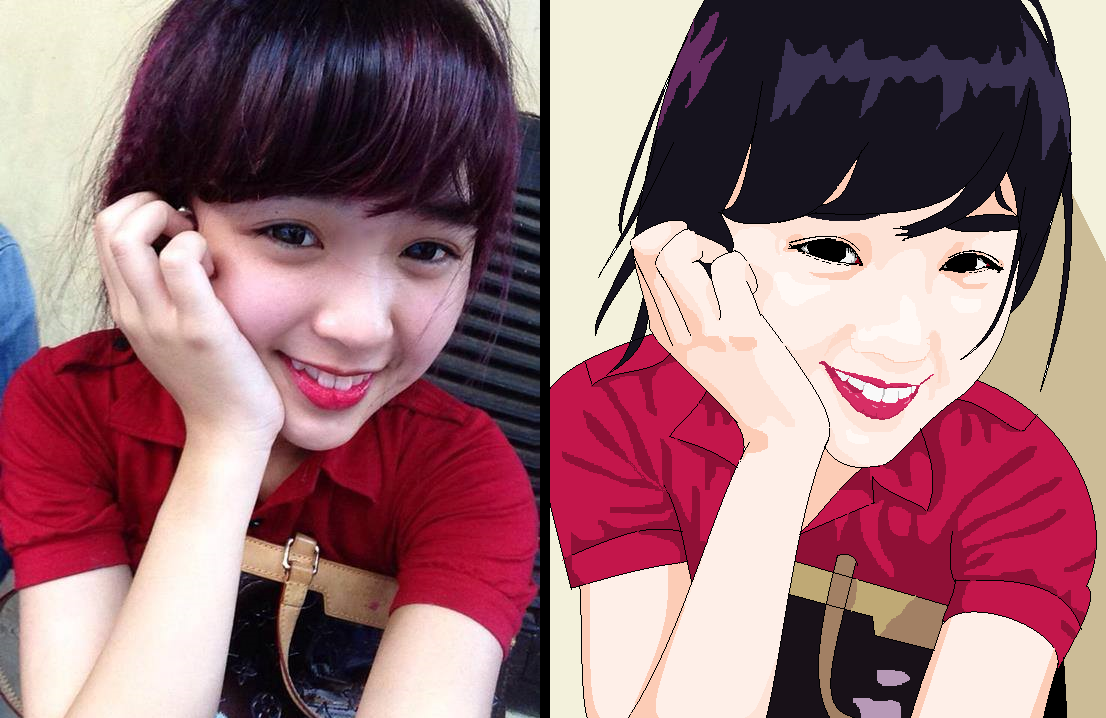 anime vs reality smiley red    ph u01b0 u01a1ng anh 97