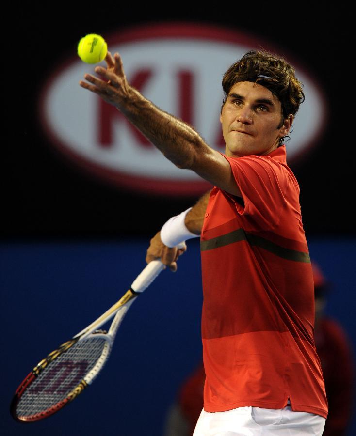 Roger Federer: TENNIS: Roger Federer Tennis Player