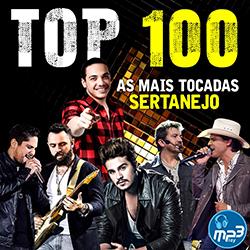 Top 100 As Mais Tocadas Sertanejo 2016 Top 100 As Mais Tocadas Sertanejo Frente MP3