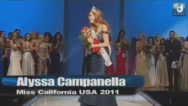 Alyssa Campanella - Miss California USA 2011 Profile & Crowning Moment video clips of Miss USA 2011 - More photos of the newly crowned Miss USA 2011