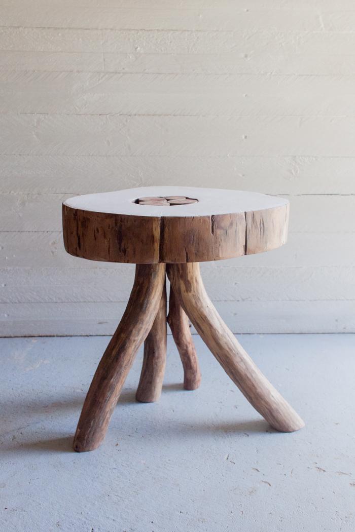 Australian Wooden Stool
