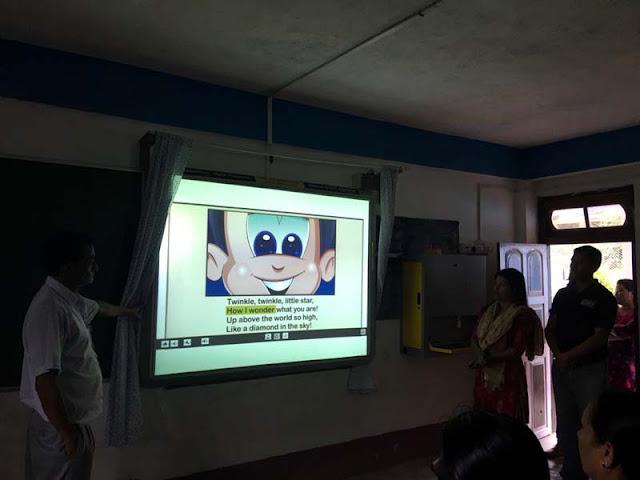 Digital Smart Class in Good Start Academy