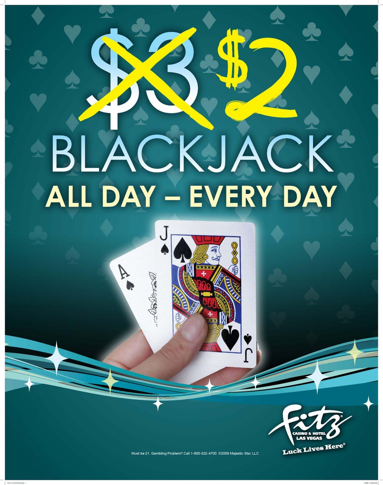 $5 blackjack downtown las vegas