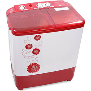 Panasonic 6.5 kg N-W65B2RRB front , Best Panasonic 6.5 kg semi-automatic washing machine