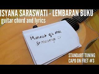Chord Gitar Sederhana Lembaran Buku – Isyana Sarasvati