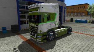 Green Swirls by EviL for Scania RJL