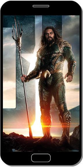 Aquaman dans Justice League - Fond d'Écran en QHD pour Mobile