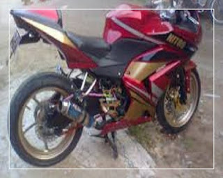 modifikasi ninja r thailook modifikasi ninja r hitam