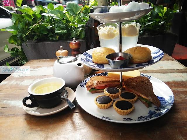 dessert, manisan, SOCIéTé's HIGH TEA