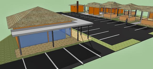 Site Plan Restoran
