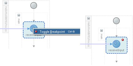Oracle SOA 12c Toggle Breakpoints