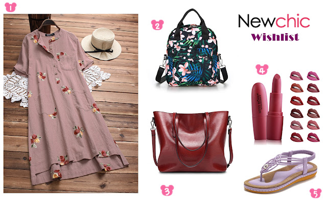 NewChic 4th Anniversary Wishlist