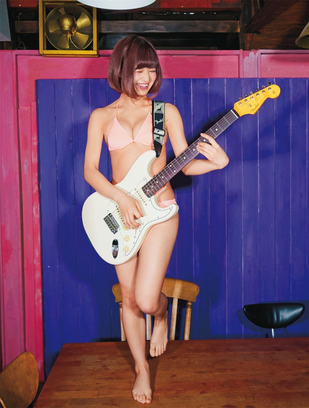 Amanatsu Yuzu 甘夏ゆず Band Ja Naimon!, Shukan SPA! 2017.05.16 (週刊スパ 2017年05月16日号)